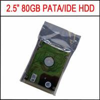 "Original Generic 2.5"" 80GB HDD 5400RPM IDE PATA Hard Drive Disk"