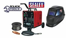 Sealey MIGHTYMIG150 Gas / No-Gas MIG Welder 150Amp 230V & Welding Helmet