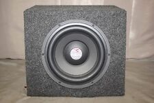 "NICE FOCAL JMLAB 8"" POWERED SUBWOOFER SPEAKER  BLACK FINISH"