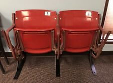 St. Louis Cardinals Game Used Busch Stadium Seats #4 & #5 MLB HOLO Pujols Molina