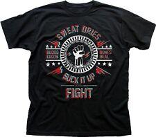 SUCK IT UP and FIGHT CLUB Project MAYHEM Tyler Durden 3D black t-shirt 9639