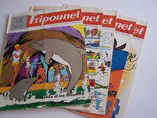 5 FRIPOUNET MARISETTE , A COEURS VAILLANTS ... N° 25.26.27.28.31. BON ETAT .
