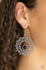 Paparazzi Earrings Wreathed In Whimsicality Black Earring