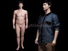 Fiberglass Plus Size Male Realistic Mannequin Mid-age looking #MZ-PLUSMAN