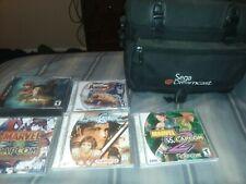 Sega Dreamcast Console Lot Soul Calibur Marvel vs Capcom Shenmue Street Fighter