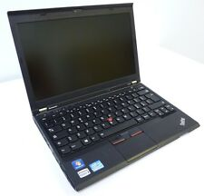 NOTEBOOK PC PORTATILE LENOVO X230 INTEL CORE I5-3320M RAM 4GB SSD 180GB WIN 7 P