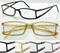 L6 Memory Plastic TR90 Reading Glasses/Cut-Out Arms Style/Super Fashion Deisgns