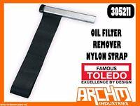 TOLEDO 305211 - OIL FILTER REMOVER - NYLON STRAP - STURDY NON-SLIP FUEL WATER
