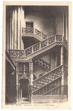 rouen, cathédrale , escalier de la bibliothéque ---