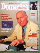 La Domenica del Corriere 15 Novembre 1986 Montanelli Philby Milva Thatcher Pace
