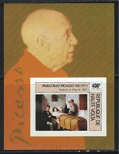 BurkinaFaso SC C222 Souv.Sht. Picasso&Paintings MNH 1975