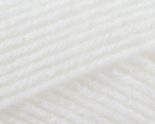 Patons Baby Smiles Merino Mix DK Yarn 50g Ball - Colour 1001 White