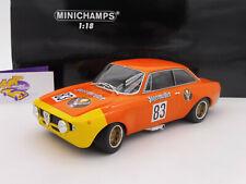 "Minichamps 155721283 # ALFA Romeo GTA 1300 Junior "" Jägermeister "" DRM 1972 1:18"