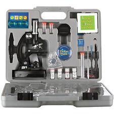 AMSCOPE-KIDS 120X-240X-300X-480X-600X-1200X Metal Arm Starter Kids Student Micro