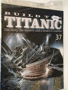 1/250 Hachette Build The Titanic Model Ship Issue 37 Inc Part Pictured.