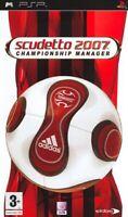 Armoiries 2007 Championship Manager (Football) sony Psp Eidos Interactive