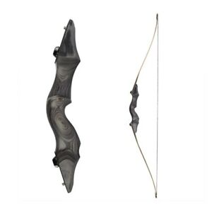 "30lbs-60lbs 60"" Traditional Hunting Longbow Long Bow 15"" Camo Riser Junxing F172"