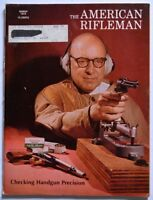 American Rifleman Magazine March 1972 Checking Handgun Precision Winchester 1886