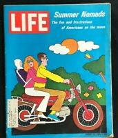 LIFE MAGAZINE - Aug 14 1970 - SUMMER NOMADS / Drugs & Youth / Nixon / MET NYC /