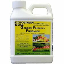 Southern Ag Garden Friendly Biological Fungicide,16oz - 1 Pint (OMRI Certified)