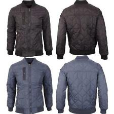 Crosshatch Waist Length Polyester Coats & Jackets for Men