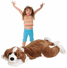 "60"" Jumbo St. Bernard Dog Large Plush Stuffed Animal Giant Big Toy by JOOJOO"