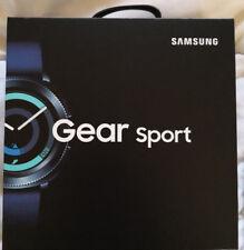 SAMSUNG Gear Sport Hybrid Smartwatch Silikon 43 mm S/L Blau NEU OV