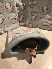 Sweet Grey Hedgie Cotton- snuggle sack- small Bonding Bag - Hedgehog -guinea Pig