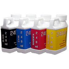 4 Multi-Color 240ml bottles ink Epson Printer Dye Sublimation Ink  Heat Transfer