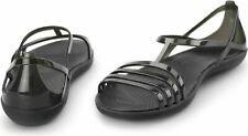 BN CROCS ISABELLA ladies summer sandals black size uk 6 RRP £45.99 FREE POST !
