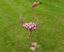 More details for flamingo sculpture tropical bird ornament garden pond water decor statue feature