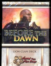 L5R 1 STARTER BEFORE THE DAWN LION VO