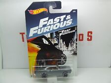 FAST & FURIOUS 1970 PLYMOUTH ROAD RUNNER HOT WHEELS MINT ON CARD
