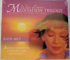 Wai Lana Meditation Trilogy 3 CD Set Sacred Sounds Conquer Fear and Anxiety New