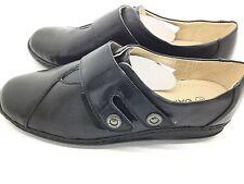 Damart Double Press and Close Fastening Comfortable Shoes UK 7 EU 41 LG04 65
