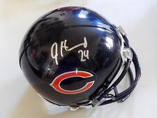 JORDAN HOWARD Bears Autographed Mini Helmet including BDS COA #2955