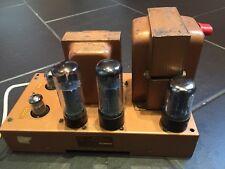 Vintage Valve Amplificateur BTH HIFI AMPLI DE PUISSANCE type AIA Grenier trouver non testés