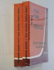 1966 Ford Truck All F100 F250 F350 Bronco Bus Factory Shop Service Manual Set