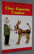 Moscati CINE FUMETTO COMICO manifesti fumetti umorismo cinematografia storia