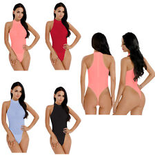 Women Lingerie Sexy Thong High Cut One Piece Leotard Jumpsuit Swimwear Bodysuit