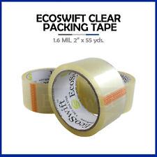 1 Roll Carton Box Sealing Packaging Packing Tape 16mil 2 X 55 Yard 165 Ft