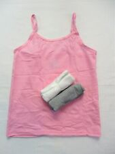 a3f01144feab Hanes Girl's Cami Cotton T-shirts Tagless Size Medium New Open Package