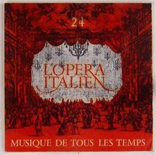 Musique de tous les temps 45 tours L'opéra italien