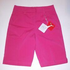 Puma Womens Bermuda Shorts Dark Pink Size 0 Sports