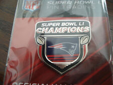 Patriots Super Bowl LI Champs Pin W/ Logo 51 NFL New England Champions 2017