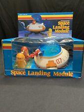 Vintage Lil Playmates Space Landing Module & Astronaut Figures Toys BOXED 1984