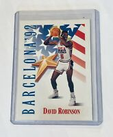 1991-92 SkyBox DAVID ROBINSON Basketball Card #538 Exclusive PSA Barcelona 1/1