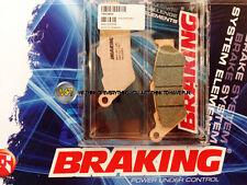 POUR APRILIA PEGASO TRAIL 650 2007 07 PLAQUETTES DE FREIN AVANT Sintérisés BRAKI