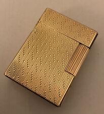 St Dupont Gold Plated Ligne 1 (SMALL) Lighter-Fully Overhauled