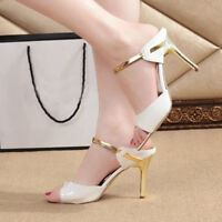 WOMENS LADIES MID STILETTO POINTED TOE HIGH HEELS PARTY PUMPS COURT SPRING SHOES